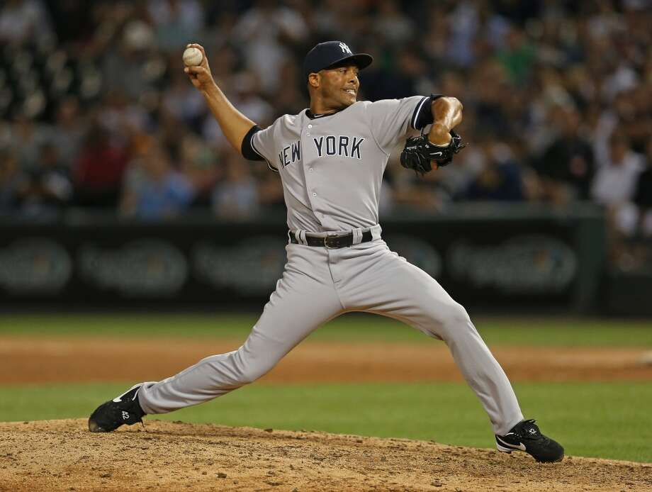 Mariano RiveraAt 43, the New York Yankees closer is still money, but he'll retire at the end of this season. A few of the Major League Baseball records he holds are most career saves, most seasons with at least 25 saves and most career saves for a single winning pitcher, the Yankee's Andy Pettitte. Photo: Jonathan Daniel, Getty Images
