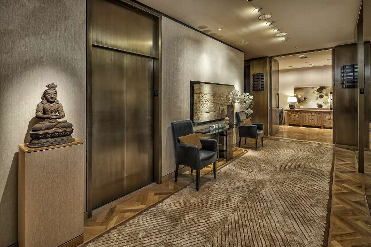 Foyer of 1301 Spring St., unit 3200. It's listed for $4.7 million.