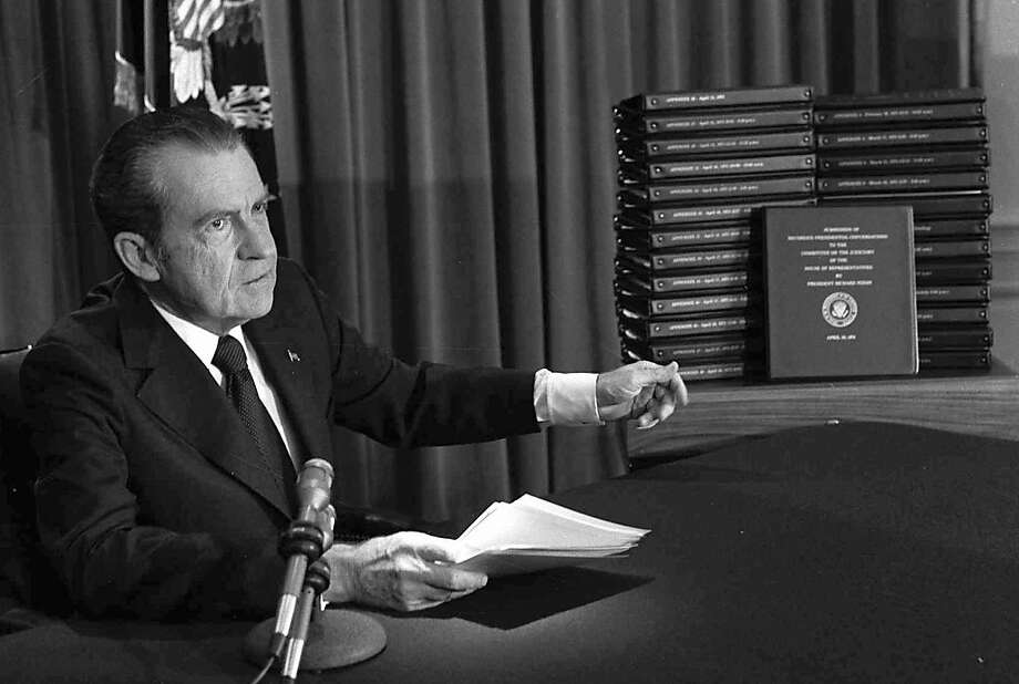 Friday: 40 years ago The House Judiciary Committee opened impeachment hearings against President Richard M. Nixon. Photo: Associated Press