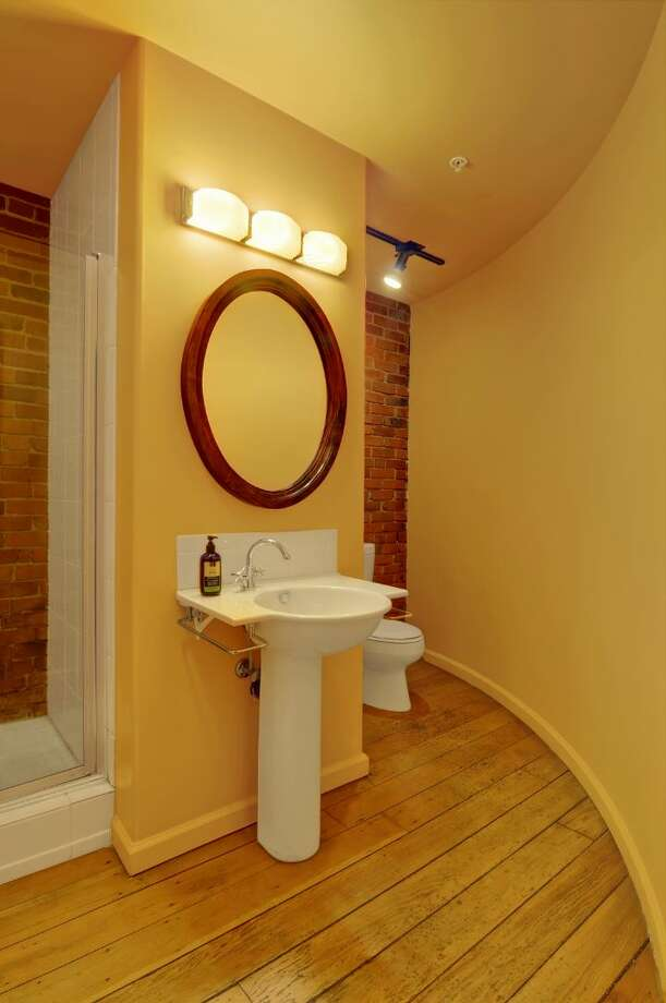 Bathroom of 210 3rd Ave. S., unit 5d. It's listed for $1.15 million. Photo: Courtesy Jeff J. Reynolds, Windermere Real Estate