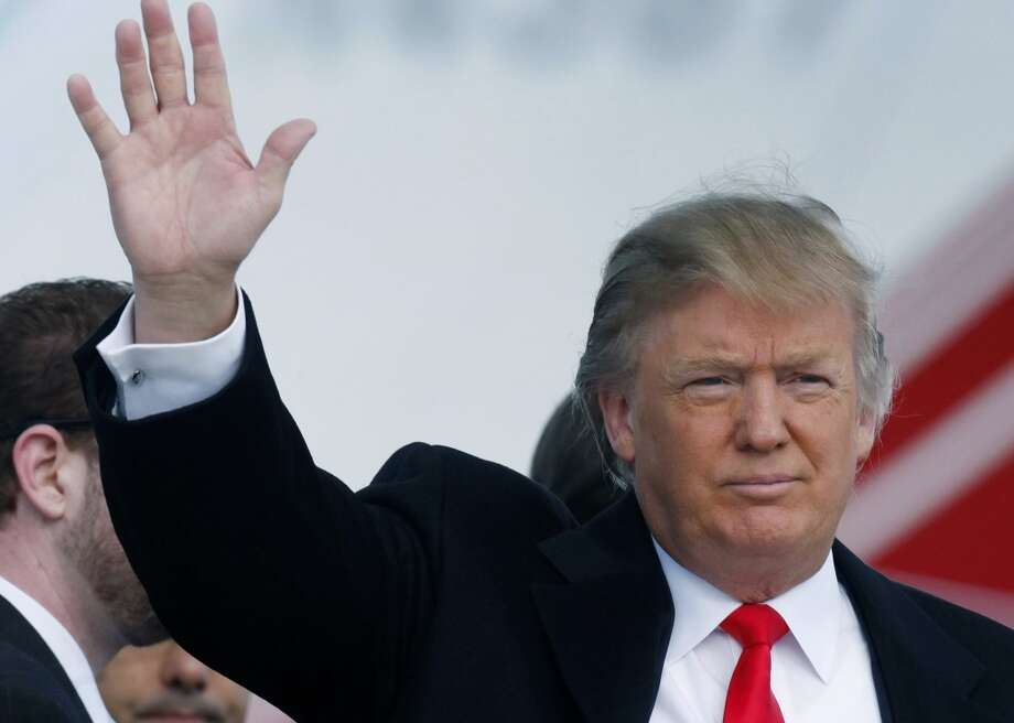 "Billionaire Donald Trump arrives at Aberdeen Airport in Scotland in 2010, to give a press conference about his plans for the ""world's greatest"" luxury golf and housing project on the Menie Estate in Aberdeenshire. Among those opposed to Donald Trump's $1.5 billion Scottish golf resort is local fisherman Michael Forbes. Forbes refused Trump's offer of nearly $700,000 (488,000 pounds) to buy his family's run-down farm, which sits at the center of the planned resort. Photo: Danny Lawson, AP"