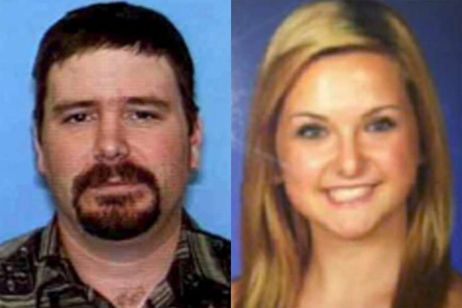 FILE - This combination of undated file photos provided by the San Diego Sheriff's Department shows James Lee DiMaggio, 40, left, and Hannah Anderson, 16. A massive search entered a seventh day Saturday, Aug. 10, 2013, for DiMaggio, suspected of abducting 16-year-old family friend Hannah. DiMaggio is suspected of killing Hannah's mother Christina Anderson, 44, and her 8-year-old brother Ethan Anderson, whose bodies were found Sunday night in DiMaggio's burning house in California near the Mexico border. (AP Photo/San Diego Sheriff's Department, File) Photo: AP