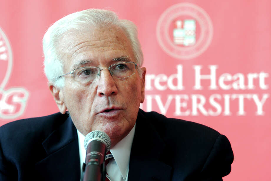 Recently retired Sacred Heart University Athletic Director Don Cook is widely recognized as a sports administrator both at SHY and his alma mater, Fairfield University. But Cook also made a major mark on Fairfield U's baseball program. Photo: Ned Gerard / Connecticut Post