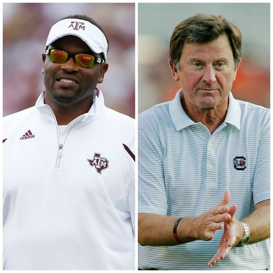 Aug. 28 Texas A&M at South Carolina  The Gamecocks host the Aggies in the first-ever matchup between the two schools. The game will also be the first conference game to be televised on the Southeastern Conference Network. Photo: Getty Images