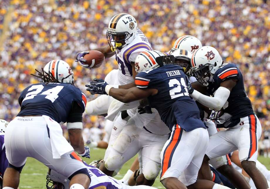 Oct. 4 LSU at AuburnThe two western division powers clash in this early October matchup. Photo: Jamie Squire, Getty Images