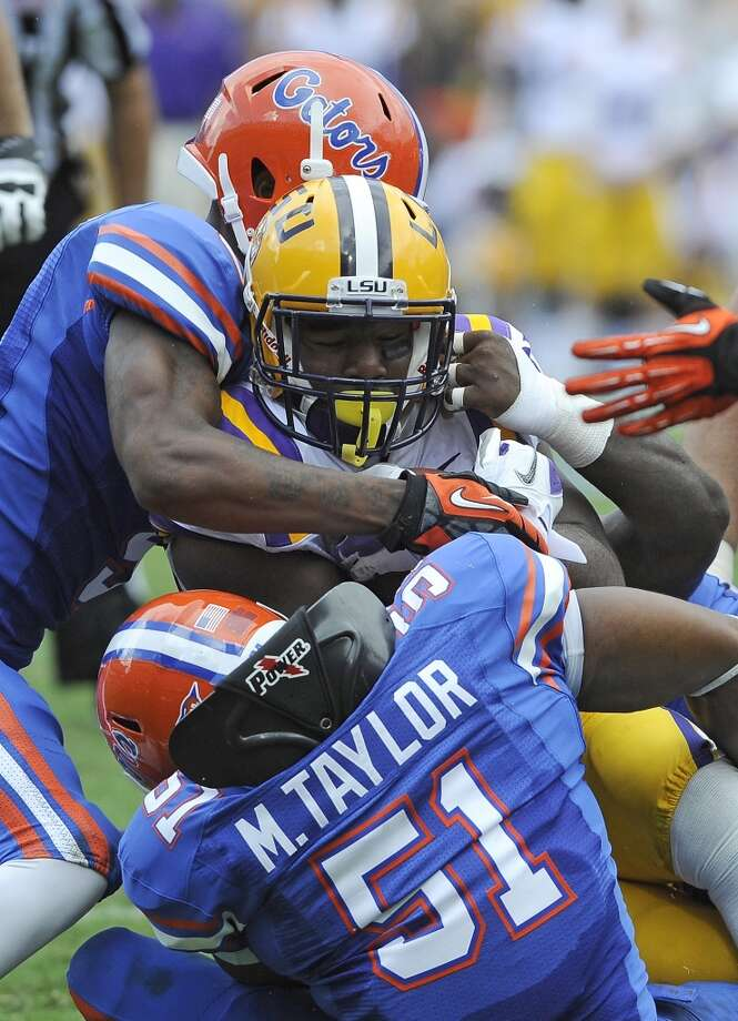 Oct. 11 LSU at Florida  The Tigers have lost three of their last four to the Gators in Gainesville. Photo: Phil Sandlin, Associated Press