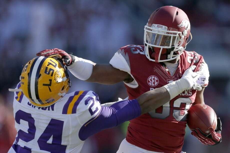 Nov. 15 LSU at ArkansasThe longtime annual Thanksgiving weekend game comes a few weeks earlier on the 2014 calendar. Photo: Wesley Hitt, Getty Images