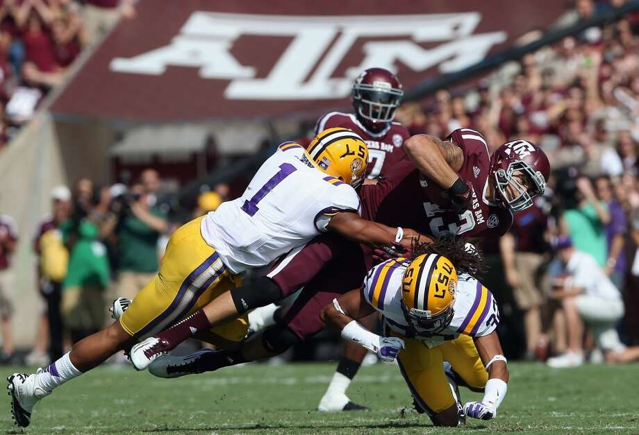 Nov. 27 LSU at Texas A&M  The Aggies play host to the Tigers on Thanksgiving in a primetime matchup. Photo: Ronald Martinez, Getty Images