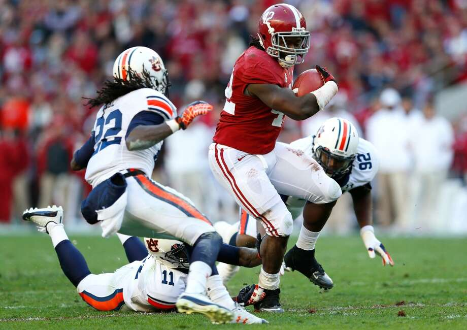 Nov. 29 Auburn at Alabama  The Tide are 42-34-1 in the Iron Bowl matchup with the Tigers. Photo: Kevin C. Cox, Getty Images