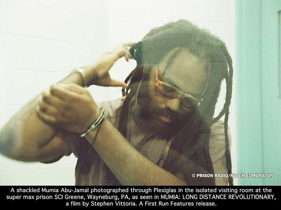 Mumia Abu-Jamal is serving time in a Pennsylvania prison for killing a Philadelphia police officer. Photo: Nolan Edmonston, Prison Radio