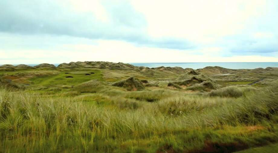 The rolling dunes on the Aberdeen coast made the location attractive for Trump's golfing destination. Photo: Trump International Golf Club Scotland Limited