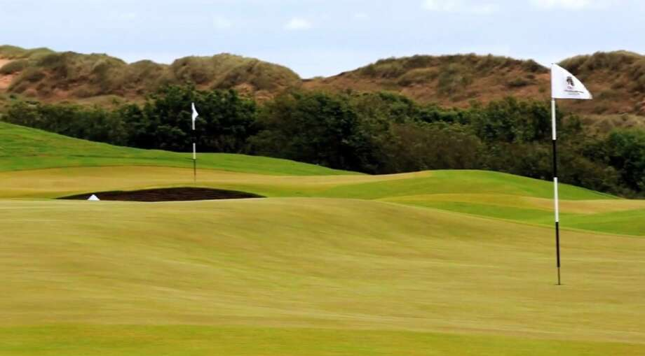 Trump International Golf Links opened in July 2012. Photo: Trump International Golf Club Scotland Limited