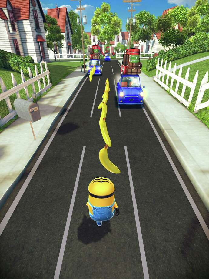 "Screen from ""Despicable Me: Minion Rush"" app game, courtesy Gameloft. Photo: Handout"