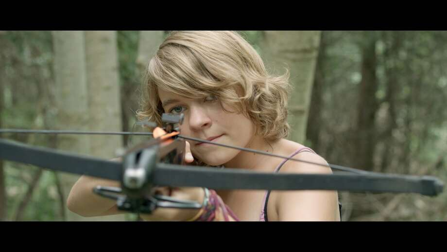 "Mackenzie Munro stars in ""I Declare War."""