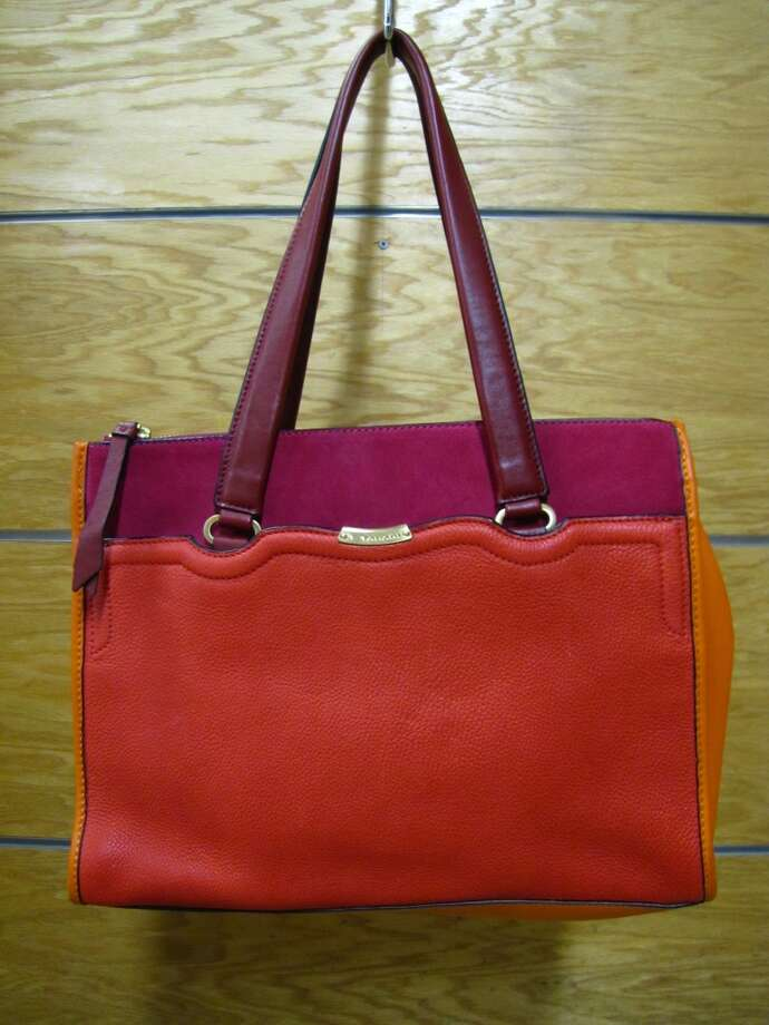 Olivia Tote Bag, T Tahari, $164, S & M Family Outlet, Beaumont Photo: Cat5