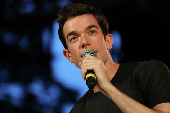 Comedian John Mulaney will perform Saturday at the Cynthia Woods Mitchell Pavilion as part of the Funny or Die Oddball Comedy & Curiosity Festival.