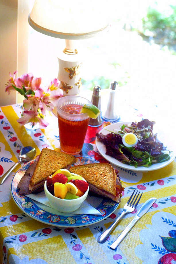 MadHatters Tea House and Cafe offers an array of sandwiches and teas.