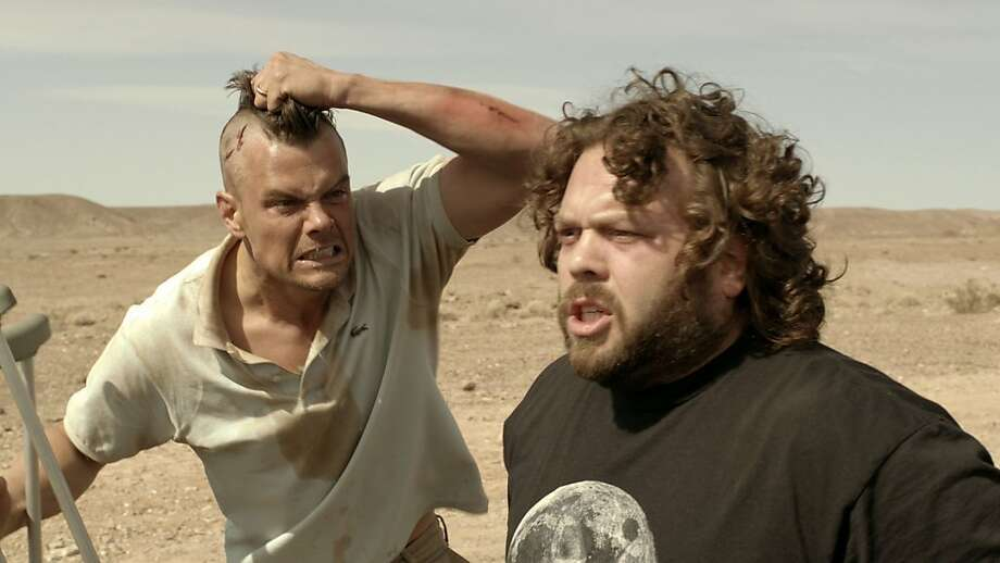 Josh Duhamel (left) and Dan Fogler play two friends who become stranded in Death Valley. Photo: Vertical Entertainment.