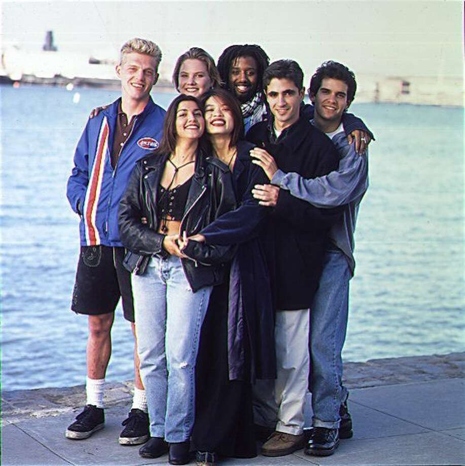 Cast of the original 'Real World: San Francisco.' The groundbreaking third season of the show aired in 1994. Photo: Courtesy, MTV