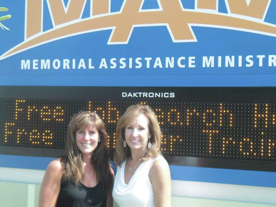 Memorial Assistance Ministries board members Wendy Moreland, left, and Pat Kleiderer are co-chairing the 2013 MAM Heartstrings Gala. Photo: Contributed / Copyright 2011