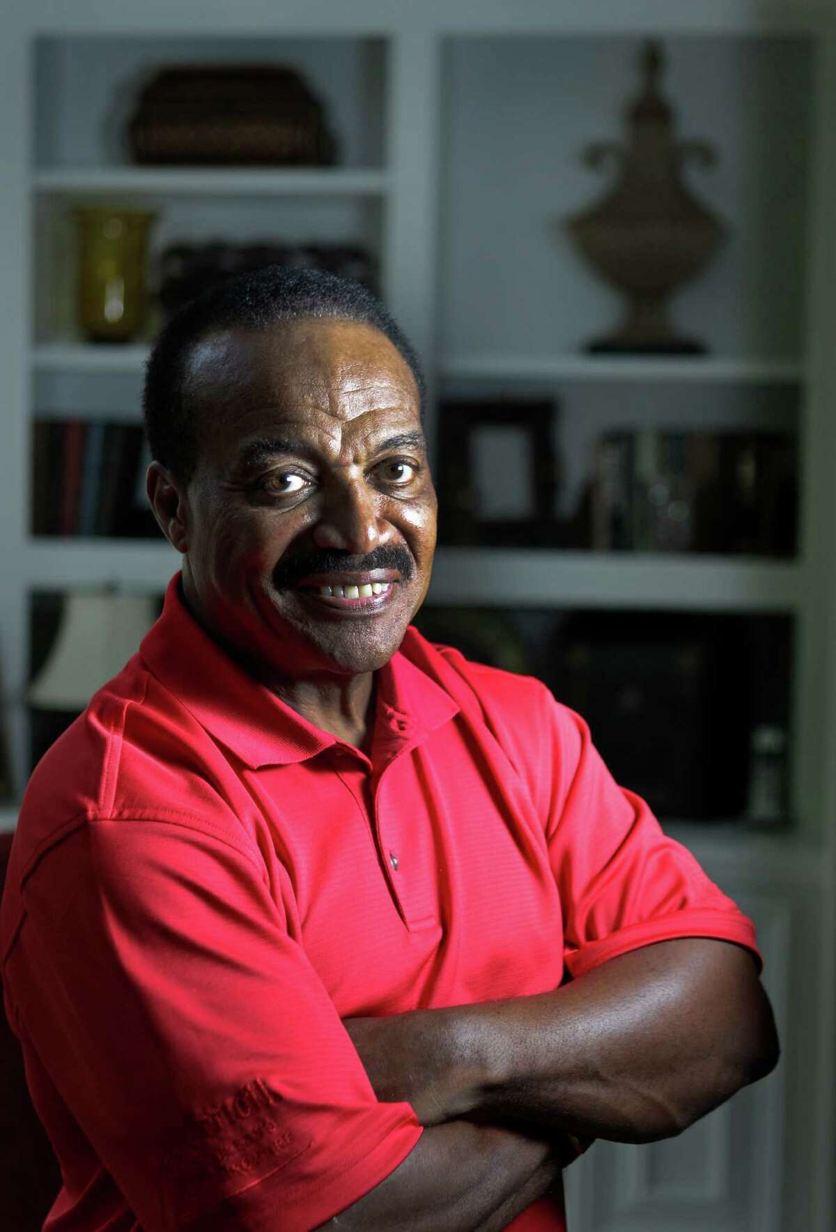 """Jerry LeVias, at his Houston home on Wednesday, is featured in a new book titled """"The Kids Got It Right"""" about the role a high school all-star game played in integrating football in Texas."""