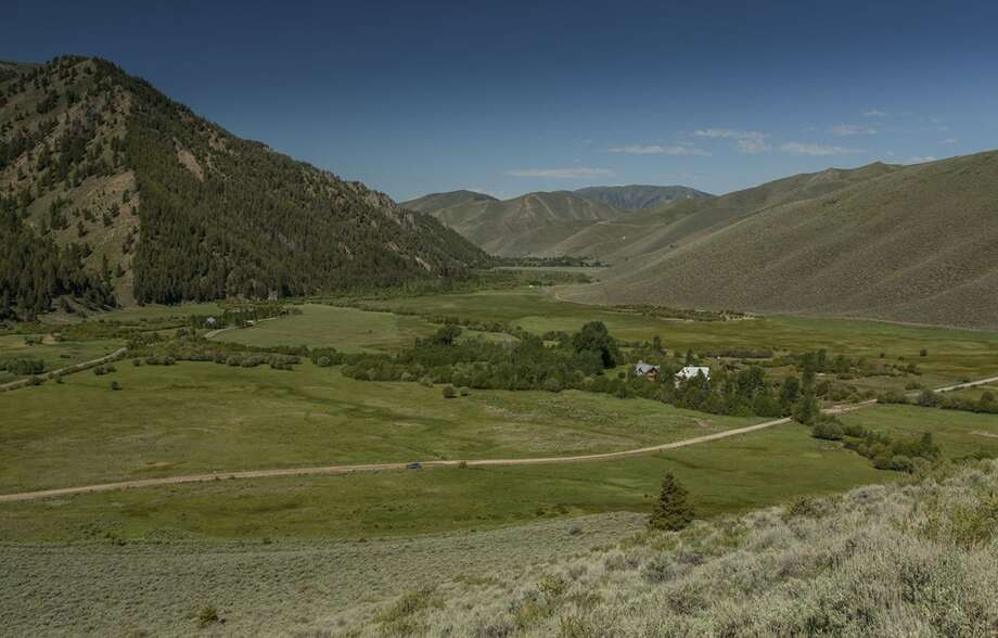 Land for miles. And miles. All photos via  Hall and Hall. http://hallhall.com/ranches-for-sale/properties/pioneer-moon-ranch
