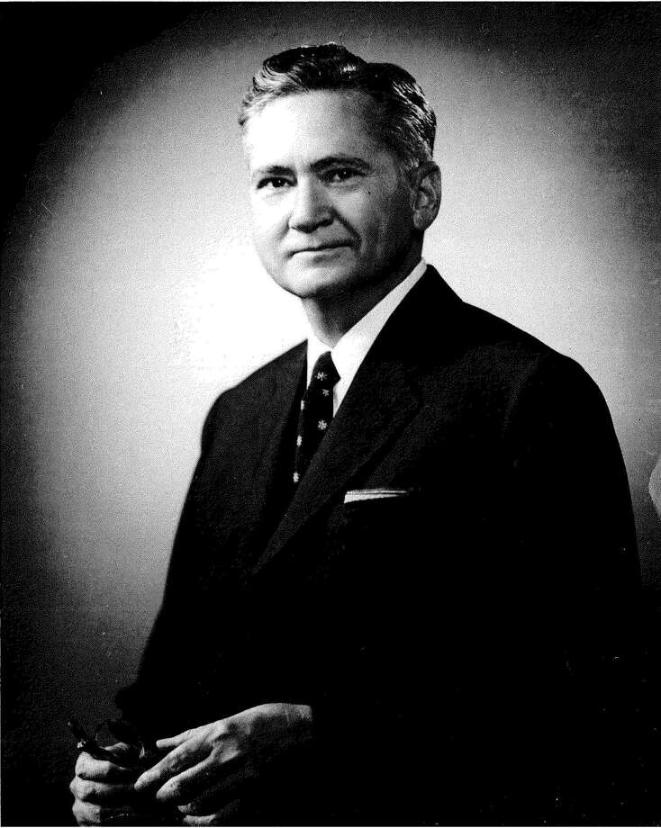 Merton Minter Drive was named after Merton Minter, physician and former chairman of the University of Texas Board of Regents. Minter played an important role in the passing of legislation allowing for the creation of the South Texas Medical School. Photo: COURTESY PHOTO