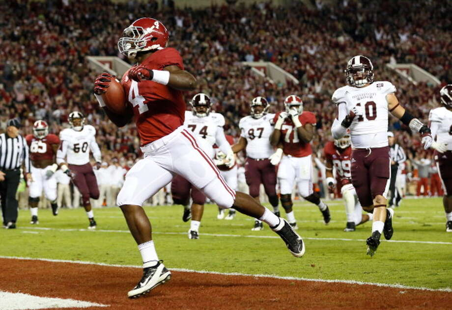 First-Team OffenseRB - T.J. Yeldon, Alabama Photo: Kevin C. Cox, Getty Images / 2012 Getty Images