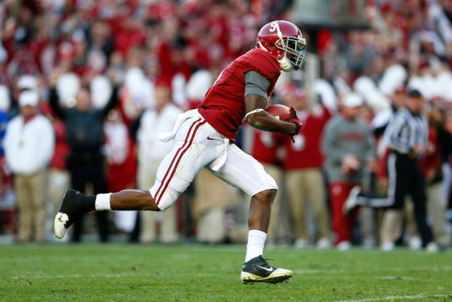 First-Team Offense  WR -  Amari Cooper, Alabama Photo: Kevin C. Cox, Getty Images / 2012 Getty Images