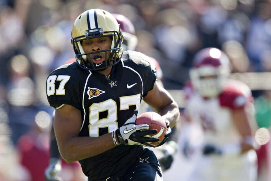 First-Team Offense  WR - Jordan Matthews, Vanderbilt Photo: Wesley Hitt, Getty Images / 2011 Wesley Hitt