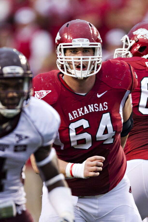 First-Team OffenseC- Travis Swanson, Arkansas Photo: Wesley Hitt, Getty Images / 2011 Wesley Hitt