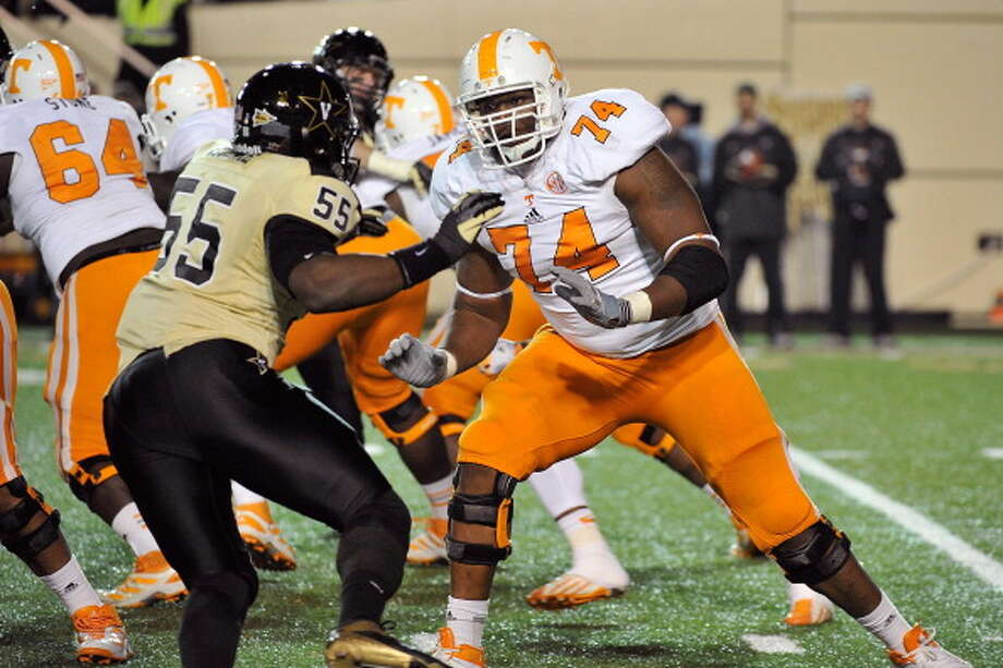 First-Team OffenseOL - Antonio Richardson, Tennessee Photo: Frederick Breedon, Getty Images / 2012 Getty Images