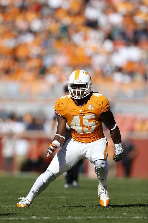 First-Team Defense  LB - A.J. Johnson, Tennessee Photo: Joe Robbins, Getty Images