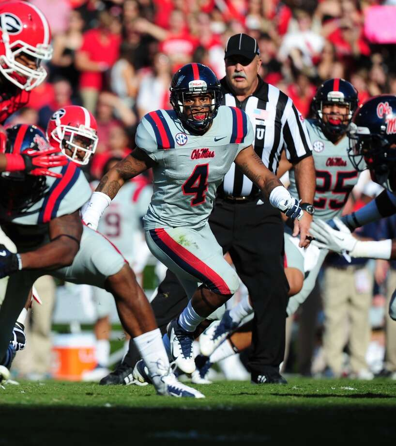 First-Team Defense  LB - Denzel Nkemdiche, Ole Miss Photo: Scott Cunningham, Getty Images