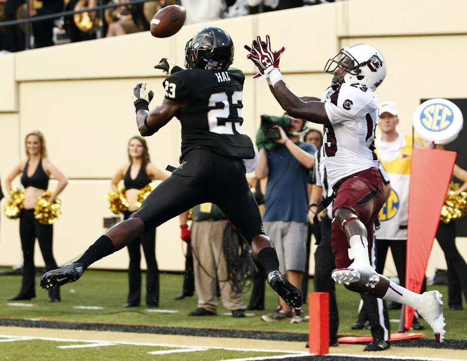 First-Team Defense  DB - Andre Hal, Vanderbilt Photo: John Russell, Associated Press