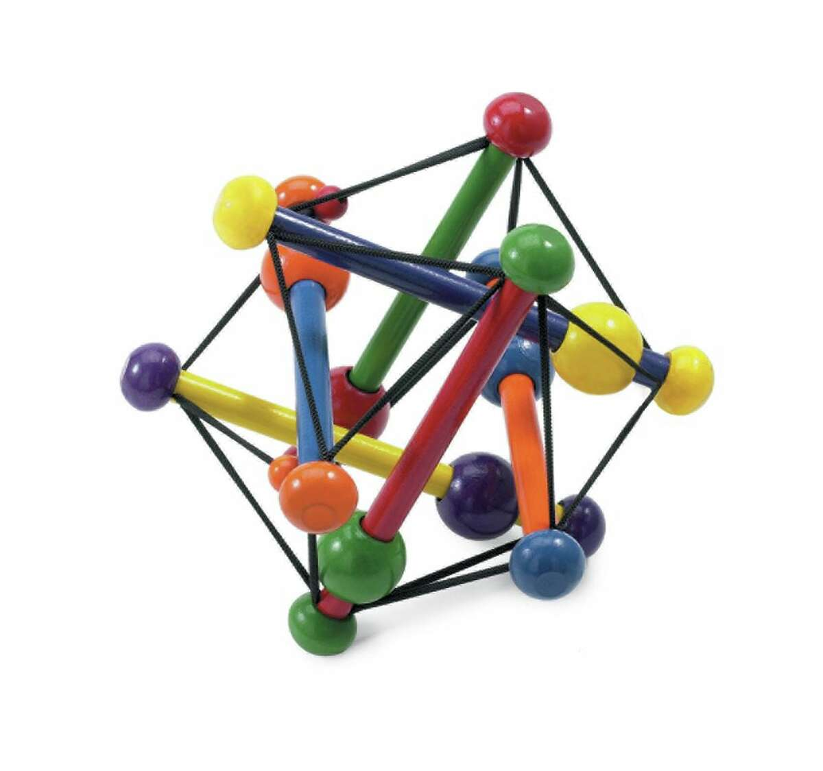 Classic play Skwish Classic by Manhattan Toy. 6 months-1 year, $16. Three decades ago the innovative Skwish was born - and this springy concoction of rebounding elastic and cheerfully jumping wooden beads has entertained babies ever since.