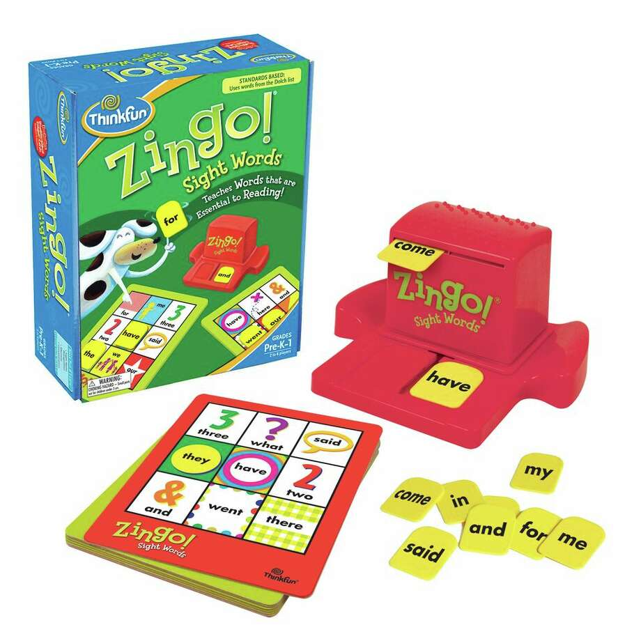 Game playZingo! Sight Words by ThinkFun. 3-7 years, $20.