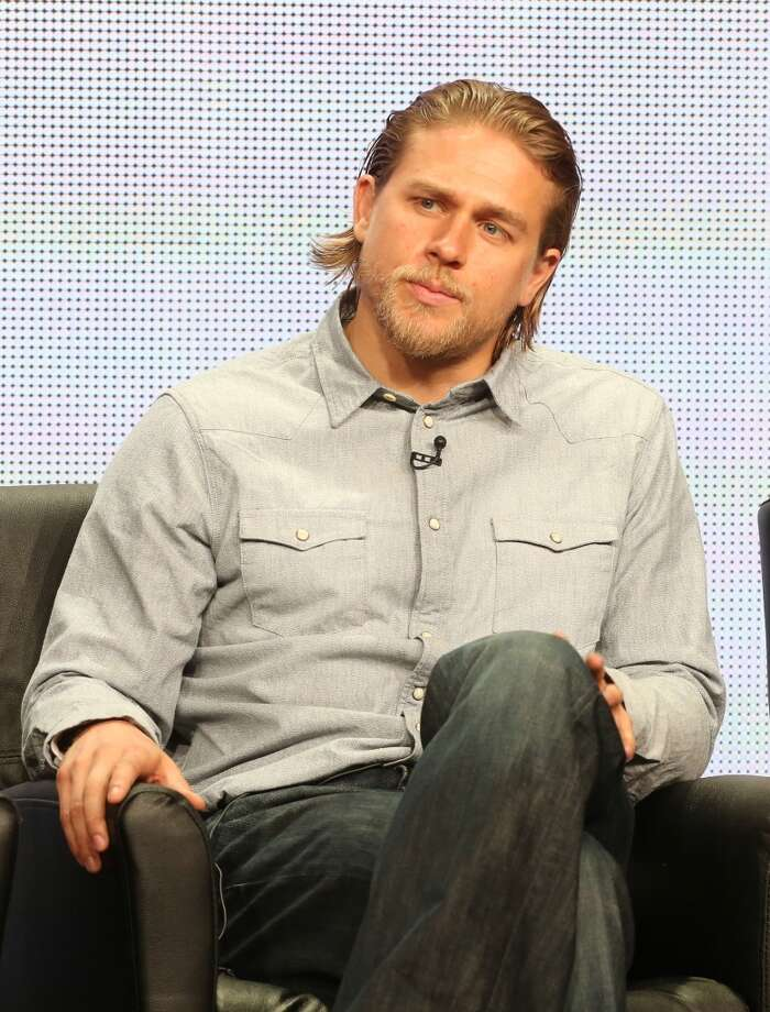 Charlie Hunnam, best known as bike Jax in ''Sons of Anarchy.'' Photo: Frederick M. Brown, Getty Images