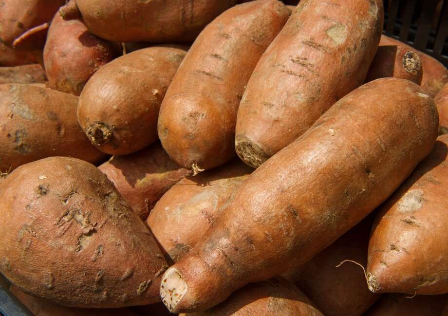 1. Sweet potatoes