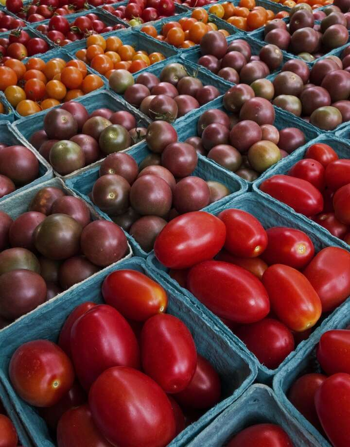 6. TomatoesThe lycopene in cooked tomatoes is a powerful cancer-prevention substance. Photo: PAUL J. RICHARDS, AFP/Getty Images