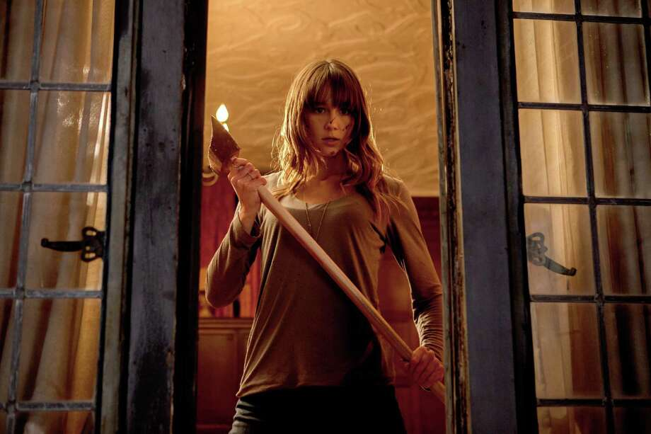 Sharni Vinson stars as ?Erin? in YOU?RE NEXT. Photo credit: Corey Ransberg/Lionsgate Entertainment