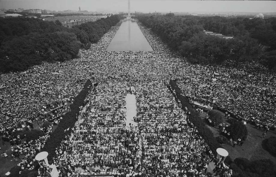 Mall Crowds, The March on Washington 1963