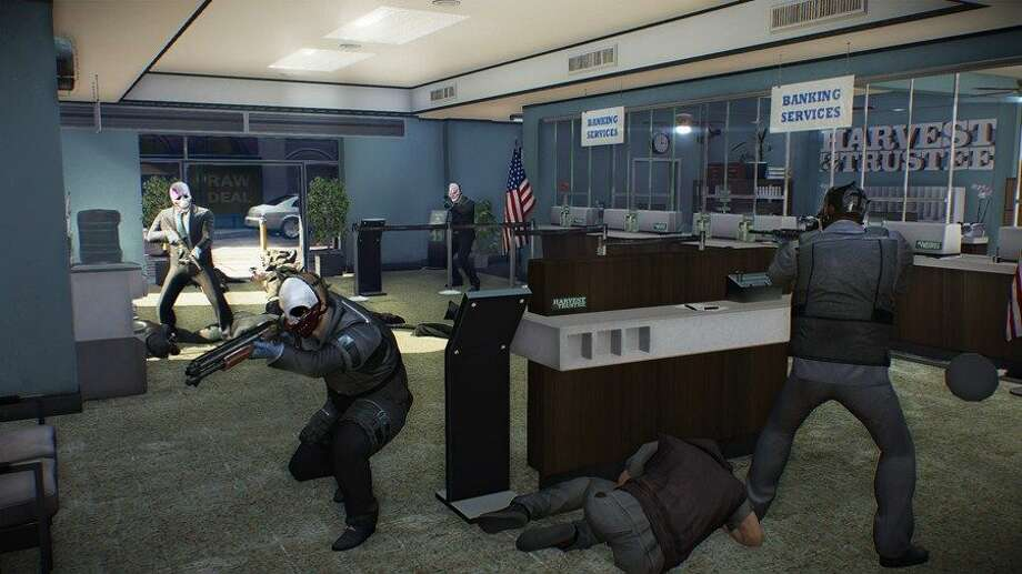 You can rob banks in Payday 2. Photo: 505 Games