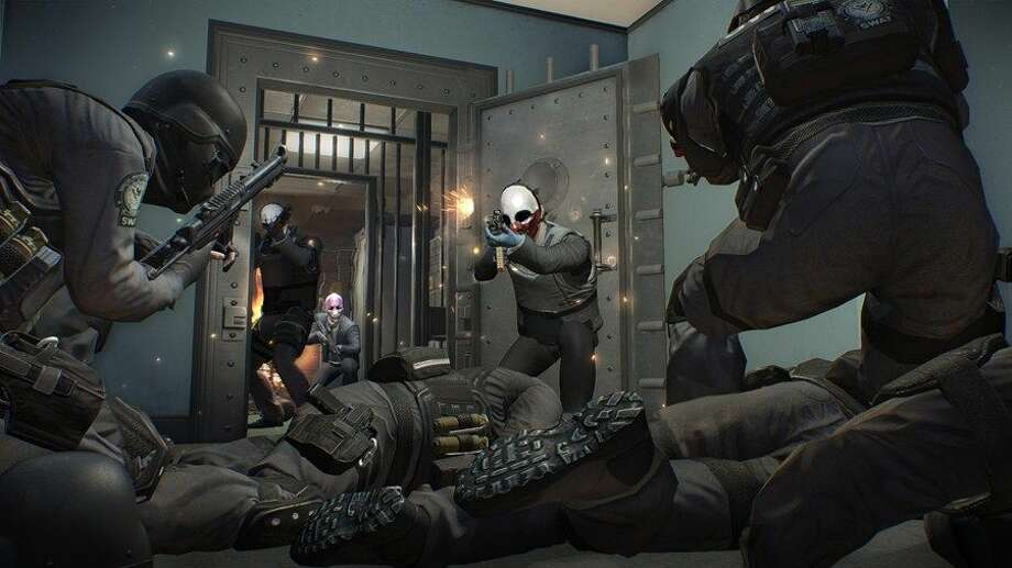 You will break the law in Payday 2. Photo: 505 Games