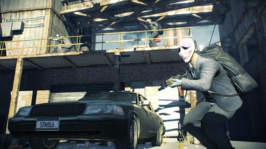 You don't drive much in Payday 2. Photo: 505 Games