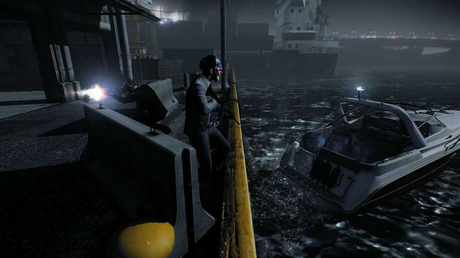 Say goodbye to that career in the Navy you wanted in Payday 2. Photo: 505 Games