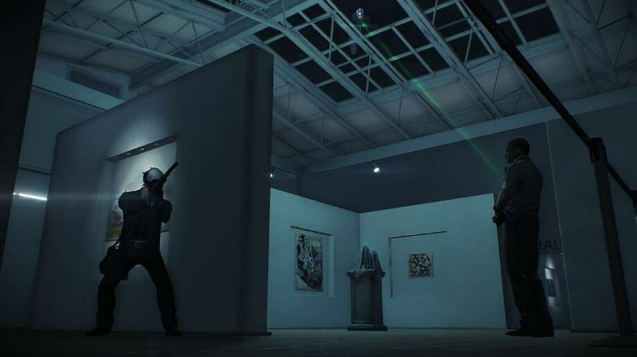 You can even rob art galleries in Payday 2. Photo: 505 Games