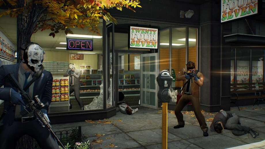 Knock off stores in Payday 2. Photo: 505 Games