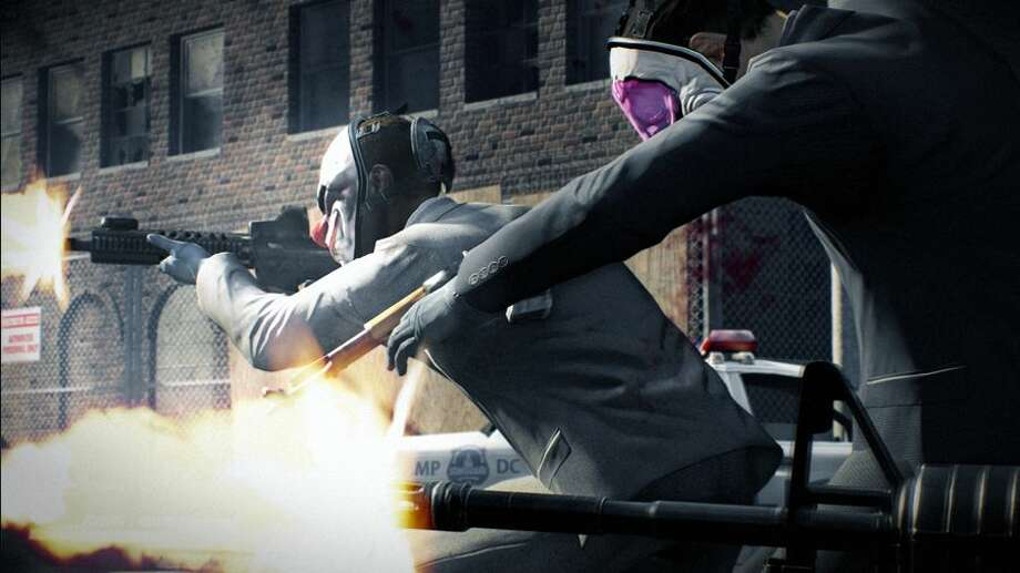 Loved the movie 'Heat?' Check out Payday 2. All you do is rob places. Photo: 505 Games