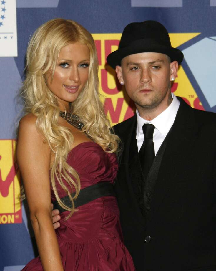 Paris Hilton and Benji Madden (Joel's twin brother) dated briefly in 2008, which happens to be the year of this VMA show. Photo: Jeffrey Mayer, WireImage